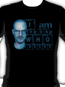Breaking Bad  I am the one who knocks T-Shirt