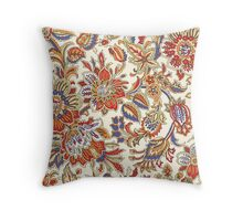 Abstract Flower Pattern Throw Pillow