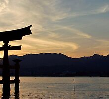 Miyajima Panoramic by Kyra  Webb