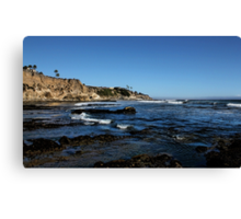 The Cliffs of Pismo Beach Canvas Print