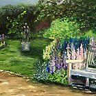 Kew Gardens Bench by Antionette