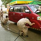 Pakistani Hoverwash, Service with a Smile by Kenny Irwin