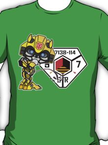 Bumblebee Peeing - Sector 7 v2 T-Shirt