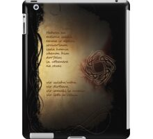 Leliana's Song Elvish iPad Case/Skin