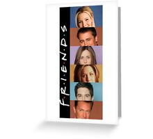 Friends - photos Greeting Card