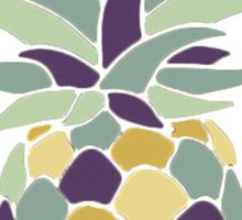 Reddit r/trees Pineapple in Brackets Design Sticker