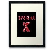 Special K Framed Print