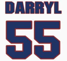 National Hockey player Darryl Williams jersey 55 T-Shirt