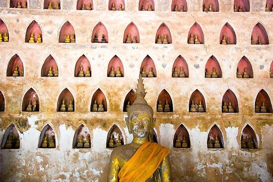Thousand buddhas by Juha Sompinmäki