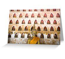 Thousand buddhas Greeting Card