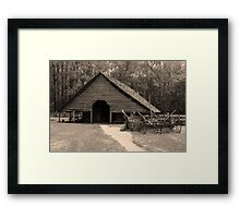 Shotgun Barn II Framed Print