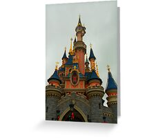 Disneyland Paris Castle  Greeting Card