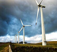Wind Turbines by Chris Charlesworth