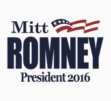 Mitt Romney 2016 by Paducah