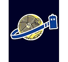 Tardis Space Company - Funnt Doctor Who Nerdy Addicted Photographic Print