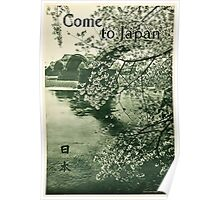Come to Japan Poster