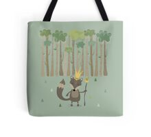 The King of the Wood Tote Bag