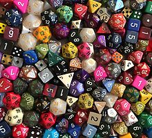 All the dice by TheTinLion