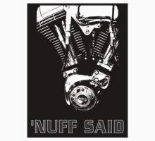 Harley - 'nuff said (on white) by Duncan Waldron
