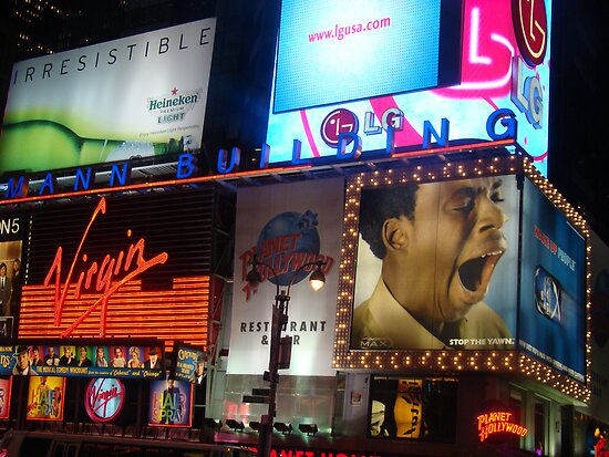 Times Square by Jennifer Darrow