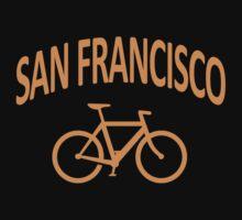 I Bike San Francisco by robotface
