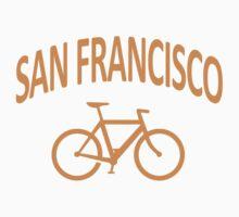 I Bike San Francisco Kids Clothes