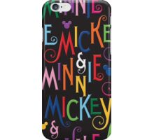 Dooney and Bourke Mickey Minnie print iPhone case iPhone Case/Skin