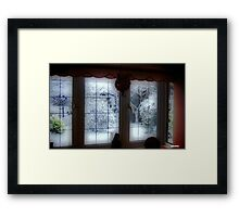 My Room...My Winter View... Framed Print