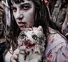 Zombie Walk (3) by Reg  Lyons