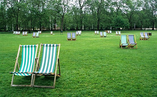 Deck Chairs by Kasia Nowak