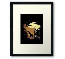 The Last of Us - Giraffe Framed Print