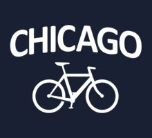 I Bike Chicago - Fixie Bike Design by robotface