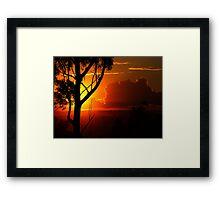""""""" Gum silhouette""""... Framed Print"""