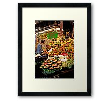 Tropical Fruit Salad Kits Framed Print
