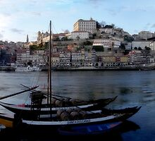 Ribeira do Porto by SandraPerdigao