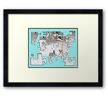 You move me Framed Print
