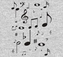 Music note black by rjburke24