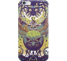 Majora's mask: The four giants iPhone Case/Skin