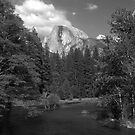 Half Dome from Sentinel Bridge by Benjamin Padgett