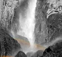 Bridalveil Rainbows by Benjamin Padgett