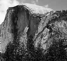 Half Dome Profile by Benjamin Padgett