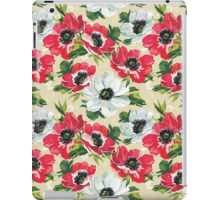 Watercolor Modern Floral Pattern iPad Case/Skin