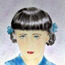 Self Portrait as  child. by Siamesecat