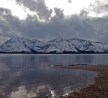 Jackson Lake Wyoming by Judson Joyce