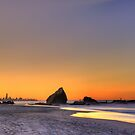 Currumbin Rock by Simon Muirhead