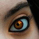 Agent Orange Eye by Meghan Gerhart