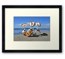 Pelican Mariachi band Framed Print