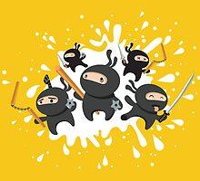 Ninja Squad by mandu-pl