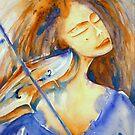 donna con il violino blu © patricia vannucci 2008 by PERUGINA