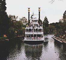 Mark Twain Riverboat  by whitneymicaela